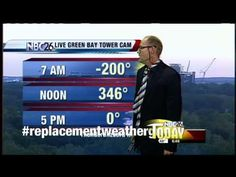 Weatherguy Gets Replaced