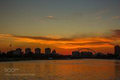 sunset by JinHoKim5
