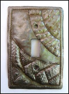 Decorative Metal Light Switch Covers Entrancing Gecko Rocker Switch Plate Cover  Iridescent Metal Switchplate Design Inspiration