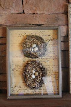 French Hen Farm: spring nesting!