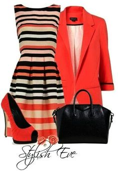 Stylish Combination Dressing http://fashions4passion.blogspot.com/