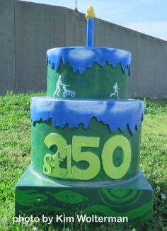 Cakeway to the West - Ashley Street Power House view 1 #cakewaytothewest #stl250