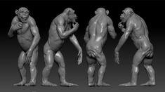 ArtStation - Chimp wip, Antoine Verney-Carron