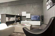 Le showroom de meubles tv où plus de 20 meubles design sont exposés. #meubletv #meuble #tv #television #design #EasyLounge