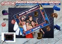 ROBLOX Photocall, archivo digital, imprimible Roblox Roblox, Party Poster, Boy Birthday Parties, For Your Party, Photo Booth, Party Supplies, Backdrops, Etsy, Happy