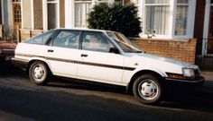 1985 Toyota Carina II Liftback 1.6 Automatic - This was the newest car I had bought at the time only 4 years old. It was in white & automatic, a pleasure to drive, when I was allowed to! When we became a 2 car family I passed it to my wife & she kept it for another 10 years, it was very reliable & never failed it's MOT, we were sorry to let it go!