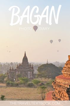 Bagan in Myanmar (Burma) is an incredible place to travel. The magic of Bagan is hard to put into words so here is a photo diary instead which hopefully captures it.