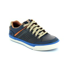 Get your casual mens skechers trainers online now at Begg Shoes and Bags. Navy skechers: www.beggshoes.com  #mensskechers #skechers #sneakers #trainers #memoryfoam