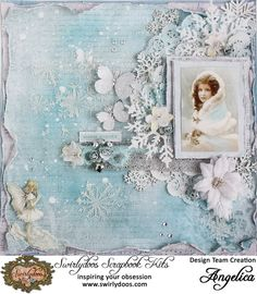 Created using the December *All that Glitters* Kit