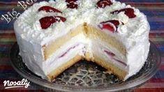 Epres fehér csoki torta   Nosalty Hungarian Recipes, Hungarian Food, Cold Desserts, Cake Pops, Nutella, Cravings, Cake Recipes, Raspberry, Cheesecake