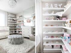 Baby Bedroom, Baby Boy Rooms, Nursery Room, Girl Nursery, Girl Room, Girls Bedroom, Kids Wall Decor, Baby Room Decor, Baby Room Design