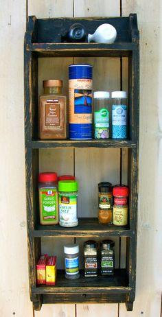 Small Shelf - Spice Rack - Kitchen - Bath - Towel Shelf - Storage