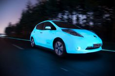 Nice Nissan 2017: Carscoops: Nissan's Glowing Leaf Meets World's First Glow-in-the-Dark Motorway  C_C a r s  | 3800+pins Check more at http://carboard.pro/Cars-Gallery/2017/nissan-2017-carscoops-nissans-glowing-leaf-meets-worlds-first-glow-in-the-dark-motorway-wvideo-c_c-a-r-s-3800pins/