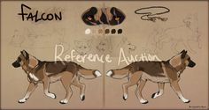 Scarred Wolf Mutt Paypal Auction CLOSED by Hlaorith.deviantart.com on @deviantART