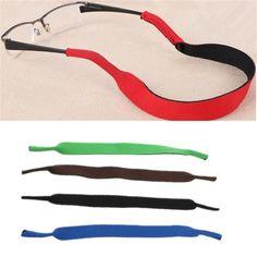 [Visit to Buy] OUTERDO 1 Pcs Sports Sunglasses Strap Neoprene MTB Bike Glasses Strap Cycling Eyeglasses Soft Sleeve Neck Cord Equipment #Advertisement