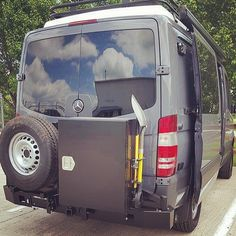 Aluminess rear bumper with swing arms for tire and deluxe box, Aluminess roof rack