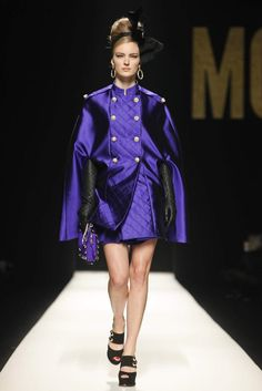MOSCHINO Milan Fashion Week Fall Winter 2012 2013 Women's Collection