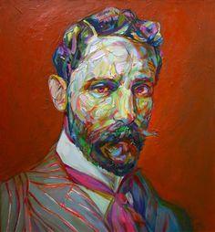 Aaron Smith – Texturized Portraiture – Bizarre Beyond Belief Magazine