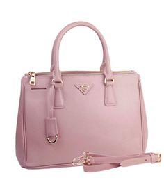 935a39549df Prada Saffiano Pink Calfskin Leather Tote Small Bag