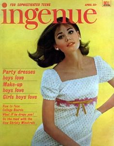 <b>Colleen</b> <b>Corby</b>, Ingenue Magazine, April 1965.