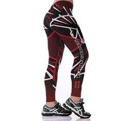 e6b6e09d4eb44 J&L 2017 New Plus Size Teams Leggings Women Match Raider Fitness Legging  Sporting 3D Print High