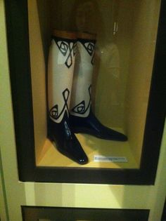 long boots from the Northampton museum