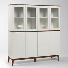 """Freeman Storage - Double Two-Tier Unit 56""""w x 18""""d x 70""""h"""