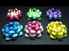 Ribbon Crafts, Paper Crafts, Diy And Crafts, Crafts For Kids, Artsy Fartsy, Handicraft, Quilling, Paper Flowers, Origami
