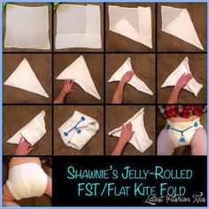 cool DIFFERENT WAYS TO FOLD A NAPPY