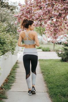 Looking for versatile, unique and slimming workout gear? Get your fitness on in our NEW Sweet Stripe Mesh High Waisted Leggings! Pair with one of our sexy sports bras {featured: matching Sweet Stripe Exhale Bra} Sporty, comfy and oh so cute! Don't like working out? Wear them running errands instead of running at the gym! To see more of the Blossom Collection, check out albionfit.com | @albionfit