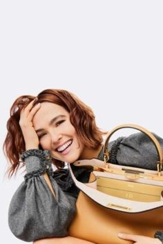"""To me, #Fendi means elegance, craftsmanship, and style. I think Fendi makes clothes for women who want to be in charge yet be able to loosen up with a joyful, ironic attitude… And that's exactly the kinda gal I am,"" says #ZoeyDeutch, Fendi's newest ambassador of the first Peekaboo campaign."