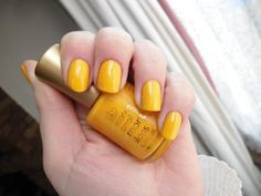 Constance Carroll - Neon Yellow     NailsByCC