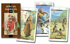African American Tarot - Only 1 Left! - pagan wiccan witchcraft magick ritual supplies