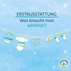 Keine Panik, sooo viel braucht ein Baby zu Anfang gar nicht. #schwanger…