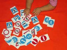 Тематический день «Правила дорожного движения для малышей»   Азбука Ума - раннее развитие детей, игры с детьми, презентации для дошкольников