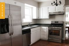 Before & After: A Gradual Renovation on a Budget — Kitchen Remodel