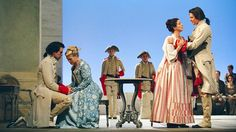 Mozart's Cosi fan tutte, Glyndebourne - have seen this opera on television a couple of times but would love to see a Glyndbourne production (this or another opera). I sometimes used to drive past Glyndebourne when I drove from my old home in Saltdean Brighton to Ringmer Community College where I taught evening classes in IT. Perhaps I'll see an opera on one of my visits to the UK!