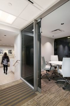 Interior design of the Vancouver office of Manulife Financial by award-winning  interior design firm