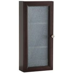 Glacier Bay Delridge 13.5 in. x 29.5 in. Surface-Mount Modular Wall Hutch in Chocolate-MWH14COM-CH - The Home Depot