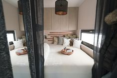 Inneneinrichtung by ME & ME Oversized Mirror, Divider, Bed, Room, Design, Furniture, Home Decor, Design Interiors, Bedroom