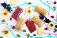 Adult Capri Sun — alcoholic Surfer Cooler & strawberry kiwi drinks | freckleandfair.com