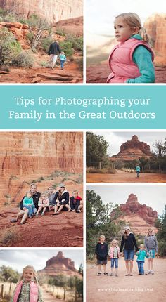 Tips for Photographing Your Family in the Great Outdoors - simple as that