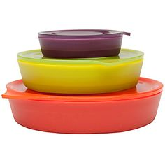 3 Collapsible Bowl Set Assorted (32oz, 16oz, 4oz)  freakin' awesome!!!!