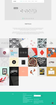 Flat design / Bloq: Responsive and Multipurpose Flat Theme / #flat #design