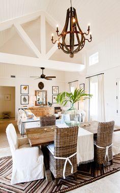 Elegant dining area in one of the Windswept Villas #ChristopheHarbour #StKitts #Caribbean www.christopheharbour.com