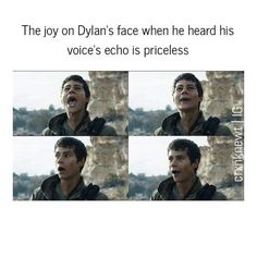 Dylan In The Scorch Trials
