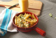 Penne, Broccoli and Pecorino Bake