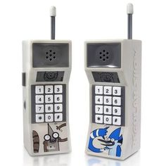 legolasbaggins:  Regular show walkie talkies that look like 80s cell phones Oooooooooooooooooooooohhhhhhhh!!!