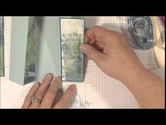 """Follow along as I show you how to make a double z fold card. This is an easy card to make and will give you an impressive """"fancy fold"""" look without much diff..."""