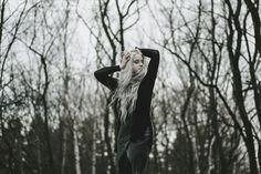 """I am the Last Tree on the Earth"" — Photographer: Madame Dentelle Designer/Makeup/Model: Silverrr"